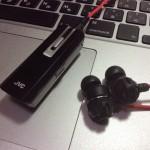 Bluetoothイヤホン【JVCケンウッド HA-FBT60】デビュー&レビュー